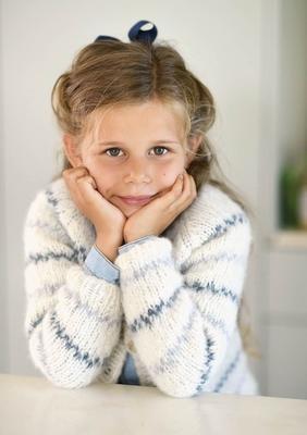 strikkeopskrifter børn vanter