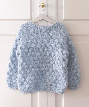 Boble  sweater - garnkit inkl. hæfte 1614